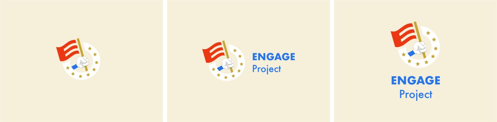 Logo final réalisé pour le projet Engage par le Studio DPE
